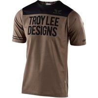 : Troy Lee Designs  Skyline SS Jersey Block WalnutBlack SM