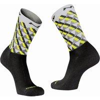 : Northwave  Core Sock Wool Light GrYllw Fluo M