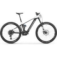 Fahrräder: Mondraker  Crafty R 29 Black - Dirty White 2021 M