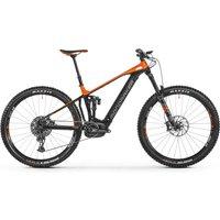 Fahrräder: Mondraker  Crafty R 29 Black - Orange - Nimbus Grey 2021 M