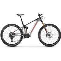 Fahrräder: Mondraker  Crafty RR 29 Racing Silver - Black - Flame Red 2021 XL