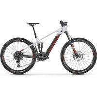 Fahrräder: Mondraker  Crafty Carbon R MIND carbon - dirty white - flame  2021 49 cm