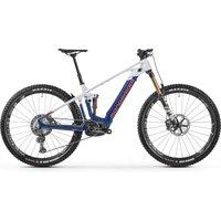 Fahrräder: Mondraker  Crafty Carbon RR 29 Deep Blue - Dirty White - Orange 2021 L