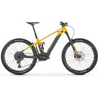 Fahrräder: Mondraker  Crafty Carbon XR MIND carbon - öhlins yellow - nimbus grey 2021 49 cm