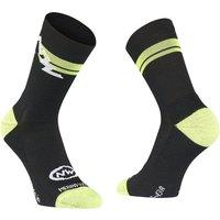 : Northwave  Extreme Winter High Sock BlackYllw Fluo M