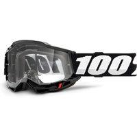 100% Accuri Gen2 goggle anti fog clear lens black unis