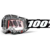 100% Accuri Gen2 goggle anti fog clear lens Cobra unis