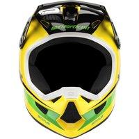Bekleidung: 100percent 100% Status DHBMX Helm D-Day Yellow XL