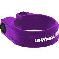 fahrradteile: Sixpack  Sattelklemme SKYWALKER 2 x 34.9 purple