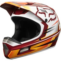 Bekleidung: FOX Fox Rampage Comp helmet reno cardinal XL