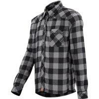 Bekleidung: IXS  Escapee flannel Black-Anthracite S
