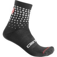 Bekleidung: Castelli  Puntini Sock Black LX