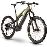 Fahrräder: Raymon Raymon TrailRay E-Seven 9.0 Black  Armor Green  Dark Grey Matt 2020 40 cm