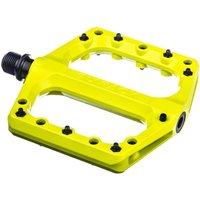 fahrradteile/Pedale: Sixpack  Menace 3.0 Pedale neon-yellow