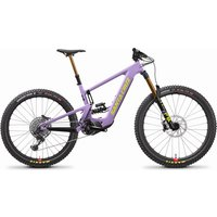 Fahrräder: Santa Cruz  Bullit CC X01 Coil MX RSV Gloss Lavender and Yellow M