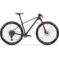 Fahrräder: Mondraker  Podium Carbon Carbon - White - Flame Red 2021 M