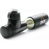 Fahrradteile/Pumpen: SKS  Airbuster Kartuschenpumpe (Reversibel)