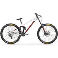 Fahrräder: Mondraker  Summum 29 Black - Dirty White- Flame Red 2021 M