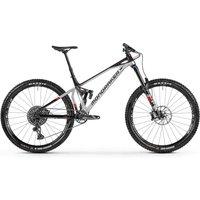 Fahrräder: Mondraker  Superfoxy R Racing Silver - Black - Flame Red 2021 XL