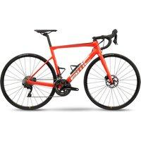 Fahrräder: BMC  Teammachine SLR FOUR Racing Red & Brushed Silver 2021 58