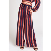 Girls on Film Ginny Stripe Palazzo Trousers Co-Ord size: 8 UK, colour: