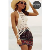 Girls on Film Multi Colour Embellished Mini Skirt size: S, colour: Mul