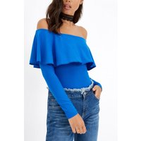 Blue Bodycon Top