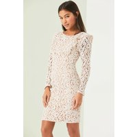Image of Outlet Little Mistress White Bodycon Dress size: 8 UK, colour: White