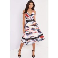 Little Mistress Abstract Print Midi size: 12 UK | EUR 40, colour: Prin