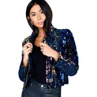 Girls on Film Sequin Jacket size: 12 UK | EUR 40, colour: Multi