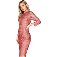 Outlet Paper Dolls Amber Lace Dress size: 8 UK, colour: Amber