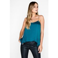 Girls on Film Emerald Top size: 14 UK, colour: Emerald Green