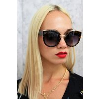 Tyra Retro Sunglasses In Tortoiseshell size: ONE SIZE, colour: Brown