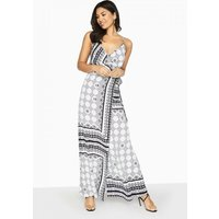 Girls on Film Marcos Cami Maxi Dress In Boho Print size: 8 UK, colour: