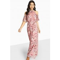 Girls on Film Grateful Cold Shoulder Maxi size: 6 UK, colour: Pink