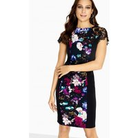 Paper Dolls Vista Illusion Dress With Lace Sleeve size: 14 UK, colour: