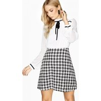 Image of Paper Dolls Rochelle Boucle Skirt Dress With Tie size: 6 UK, colour: B