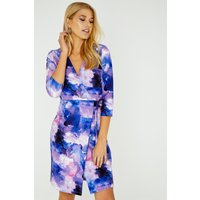 Nord Wrap Dress In Watercolour