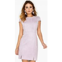 Girls on Film Purple Pearl Studded Dress size: 6 UK, colour: Lilac