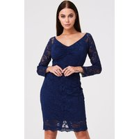 Paper Dolls Belgrave Navy Lace Dress size: 8 UK, colour: Navy