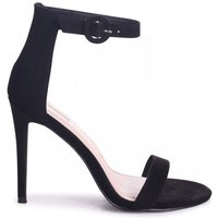 NENA - Black Suede Barely There Heel
