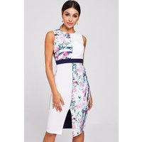 Paper Dolls Marlow Floral-Print Pencil Dress size: 6 UK, colour: Multi
