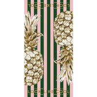 Image of Look Like Cool Rainforest Punch Gold Pineapple Towel size: XL, colour: