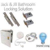 Jack & Jill Bathroom Locking System