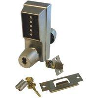 Simplex Unican 1021B Digital Lock Knob Operated With Key Override