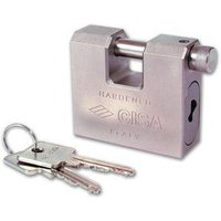 Cisa 28550 Lim Series Straight Shackle Padlock