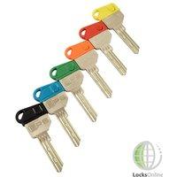 Coloured Key Caps for EVVA EPS Keys