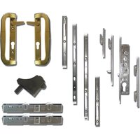 Mila Fearless Patio Door Lock and Handle Kit