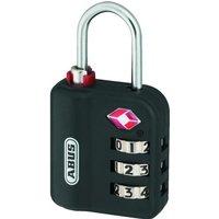 ABUS 147TSA Series Combination Luggage Open Shackle Padlock