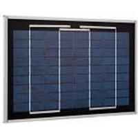 MJU01X 8W Solar Panel  - Locksonline Daitem